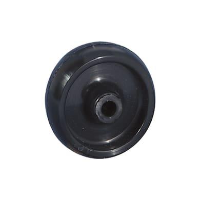 Ruota in nylon nero Ø 60 cm