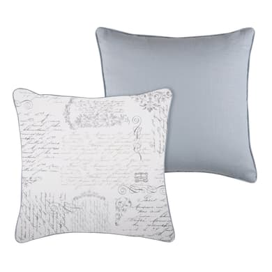 Cuscino Parchemin Ramie grigio 45x45 cm
