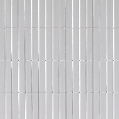 Canniccio doppia vista pvc NATERIAL grigio chiaro L 5 x H 1.5 m