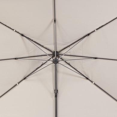 Telo di ricambio ombrellone NATERIAL colore tortora 282 x 391 cm