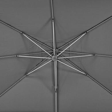 Telo di ricambio ombrellone sonora NATERIAL colore antracite 282 x 391 cm