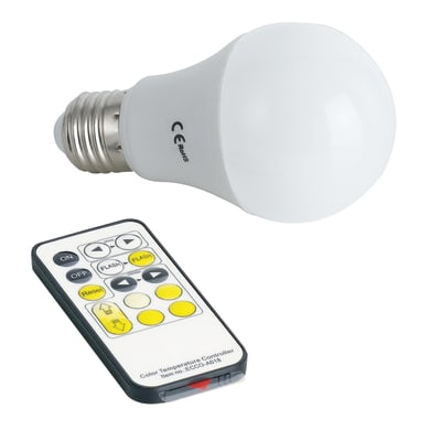 Lampadina Con Funzioni Aggiuntive LED I-LUMYA-E27-W/WW caldo<multisep/>bianco naturale<multisep/>bianco freddo<multisep/>neutro E27 8.5W = 180LM (equiv 8,5W) 180°