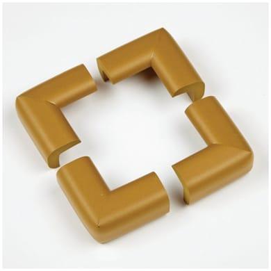 Paraspigolo Marrone in plastica / pvc Sp 30 mm 4 pezzi