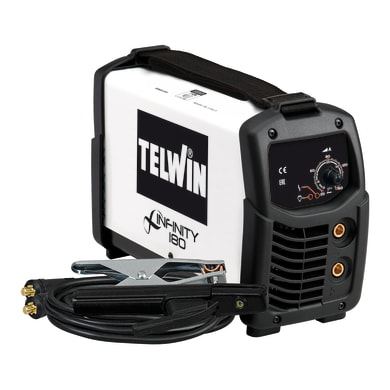 Saldatrice inverter TELWIN Infinity 180 + ACX mma, tig 160 A 4500 W
