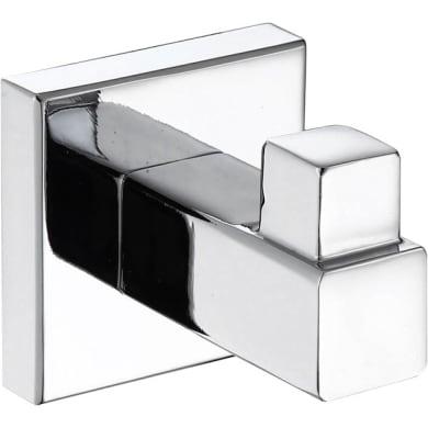 Gancio Quaddro argento cromo lucido in zama