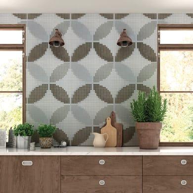 Mosaico Geo Beige H 31.8 x L 31.8 cm beige