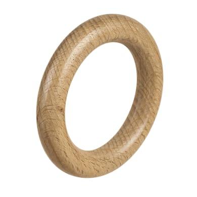 Anelli in legno naturale