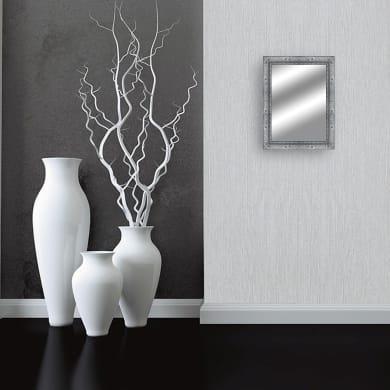 Specchio a parete rettangolare Sanremo grigio 83x113 cm