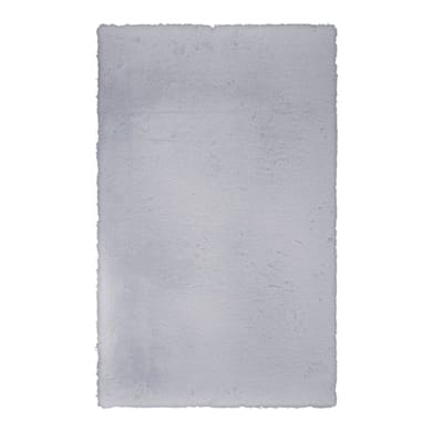 Tappeto Carezza , argento, 60x120 cm