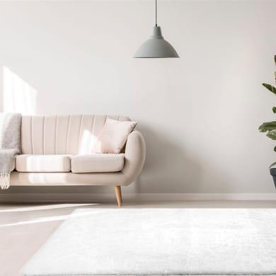 Tappeto Carezza , bianco, 60x120 cm