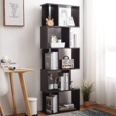 Libreria L 60 x P 24 x H 171 cm wengé