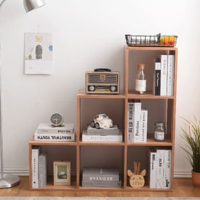 Libreria 6 ripiani L 97.5 x P 29 x H 97.5 cm