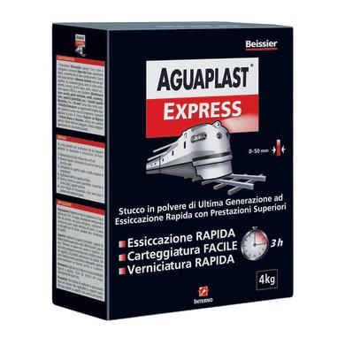 Stucco in polvere AGUAPLAST Express 4 kg bianco
