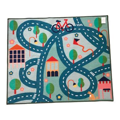 Tappeto Playrug park , colori assortiti, 100x120