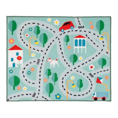 Tappeto Playrug city , colori assortiti, 100x120