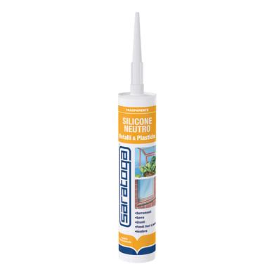 Silicone SARATOGA Crilex e Vetri trasparente 280 ml