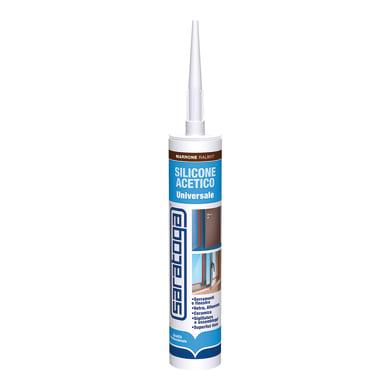 Silicone SARATOGA Porte e Finestre marrone ral 8017 280 ml