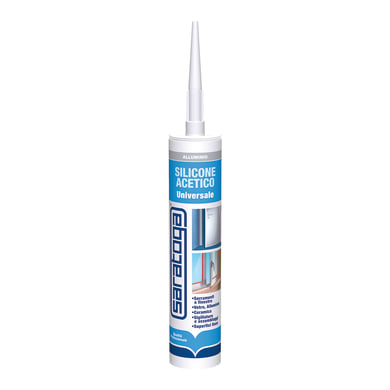 Silicone SARATOGA Porte e Finestre allumino 280 ml