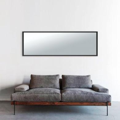 Specchio a parete rettangolare MILO XXL INSPIRE NERA 40X140 nero 42x142 cm INSPIRE