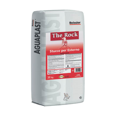 Stucco in polvere AGUAPLAST Alto Standard 15 kg bianco
