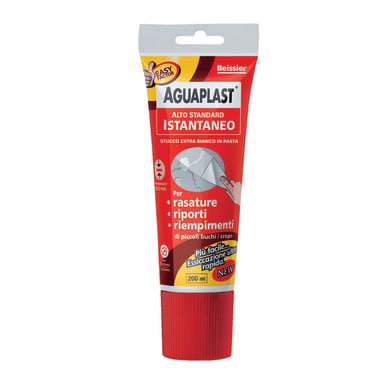 Stucco in pasta AGUAPLAST Alto Standard istantaneo 0.2 kg bianco
