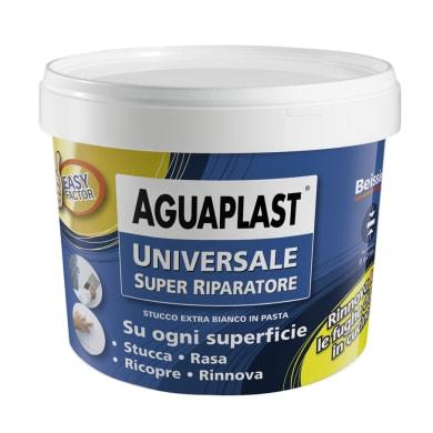 Stucco in pasta AGUAPLAST Super Riparatore 1 kg bianco