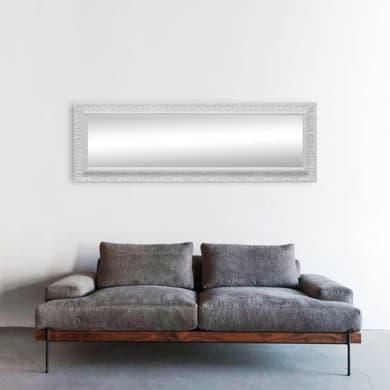 Specchio a parete rettangolare Venere bianco 67x167 cm