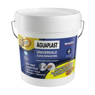 Stucco in pasta AGUAPLAST Super Riparatore 5 kg bianco