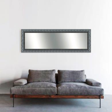 Specchio a parete rettangolare Matteo argento 70x170 cm