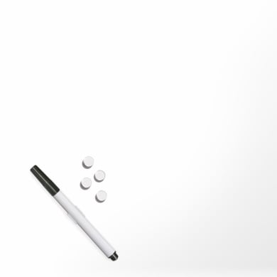 Lavagna Bianco bianco 30x30 cm