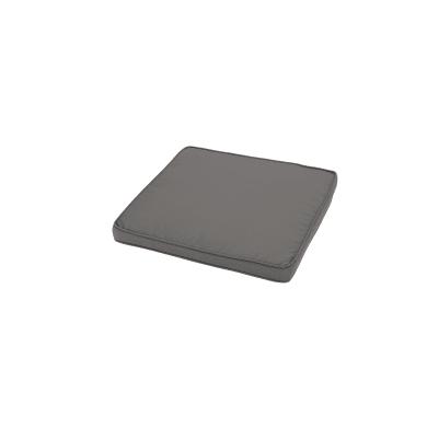 Cuscino per sedia antracite 50x4 cm