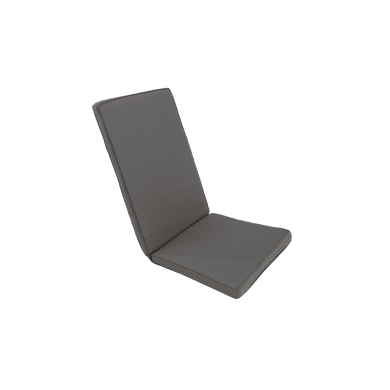 Cuscino per sedia antracite 49x120 cm