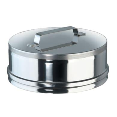 Raccordo per canna fumaria Tappo cieco Inox MP D120 in inox 316l (elevata resistenza in condizioni climatiche estreme) Ø 120 mm