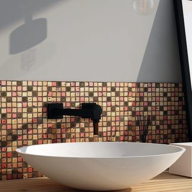 Mosaico H 30 x L 30 cm multicolore