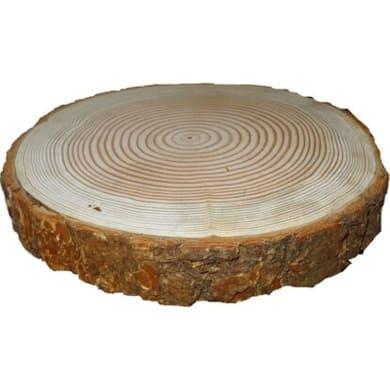 Rondella tondo in noce grezzo 40 mm Ø 300/400 mm