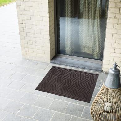 Zerbino Door Mat in poliestere marrone 45x75 cm
