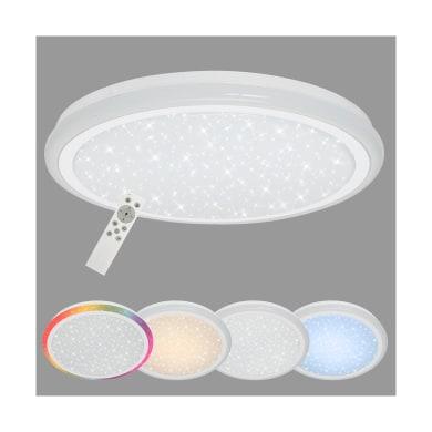 Plafoniera moderno Edge LED integrato bianco