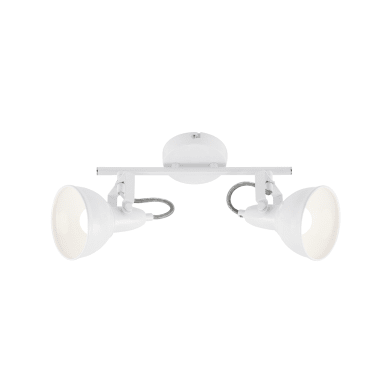 Faretto Soft bianco, in metallo, E14 2xIP20