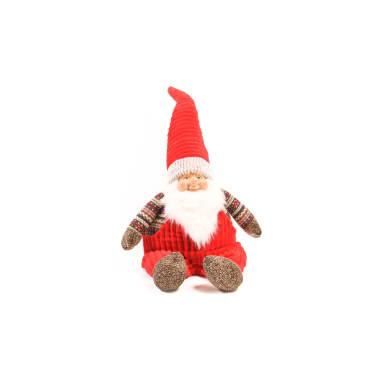 Figura natalizia rosso L 46 x P 32 x H 115 cm