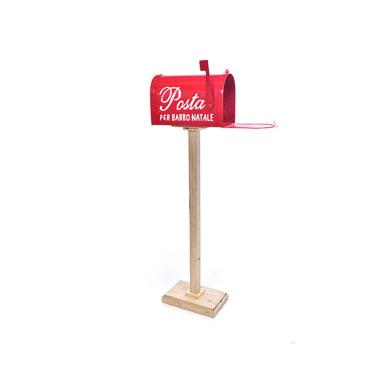 Cassetta postale rosso H 108 cm