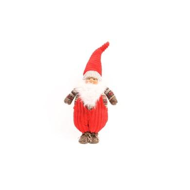 Figura natalizia rosso L 28 x P 17 x H 72 cm