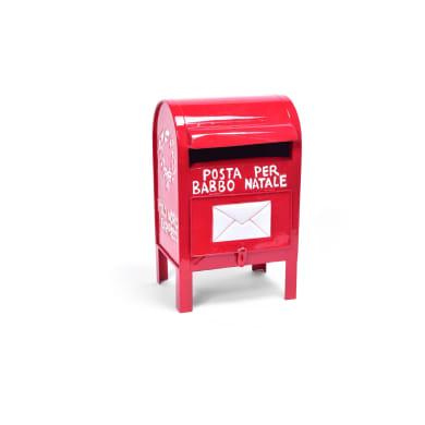 Cassetta postale rosso H 33 cm