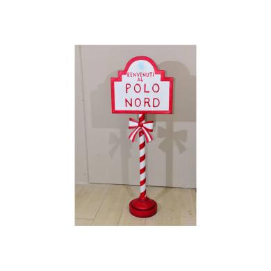 Figura natalizia multicolore H 121 cm