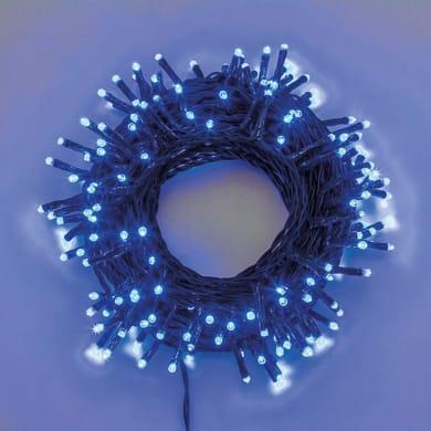 Catena luminosa 480 lampadine LED blu Mini 3400 cm
