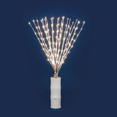 Ramo luminoso Ramo 80 lampadine bianco caldo H 75 cm
