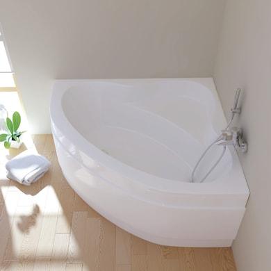 Vasca e telaio 130 x 130 cm bianco SANYCCES