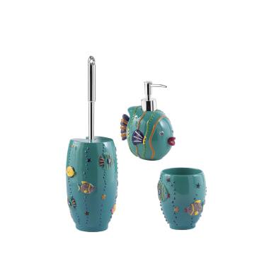 Set di accessori per bagno Dori fantasia in resina , 3 pezzi