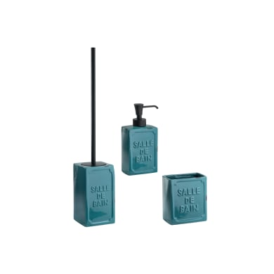 in Ceramica 1-Blue PEHOST Set di Accessori per Il Bagno
