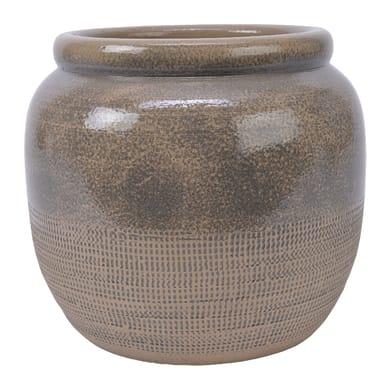 Vaso Artic in terracotta colore Marrone H 22 cm, Ø 24 cm
