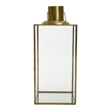 Lanterna oro H 42 cm,